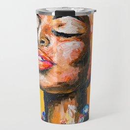 Black Magic Woman Travel Mug