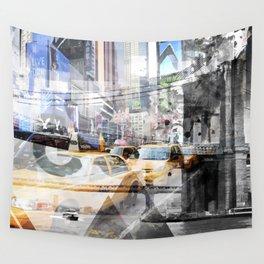 New York City | Geometric Mix No. 9 Wall Tapestry