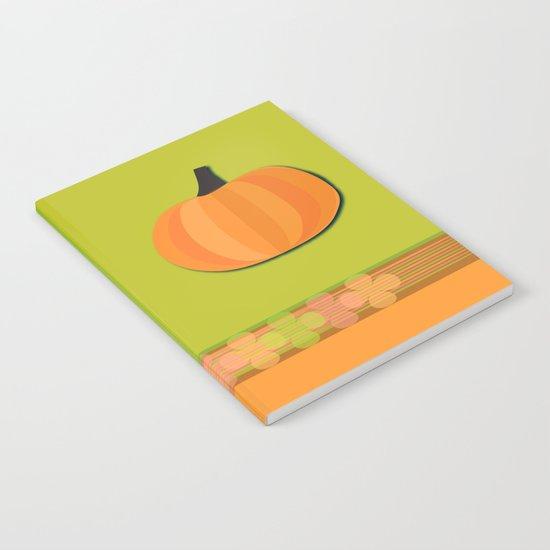 Pumpkins Time Notebook