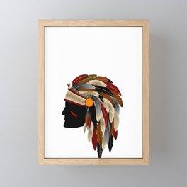 American Indian Framed Mini Art Print