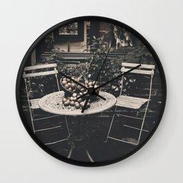 Lovely Garden France Wall Clock