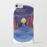 skeletor iPhone & iPod Cases featuring Skeletor is love by David Pavon