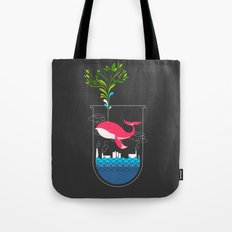 Nature Whale Tote Bag