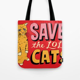 Save the LOL Cats Tote Bag