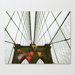 Brooklyn My Love Canvas Print