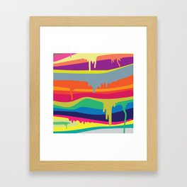 Melt On Framed Art Print
