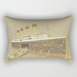Foretold Tragedy Rectangular Pillow