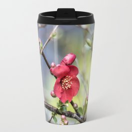 Spring Starts with Quince Travel Mug