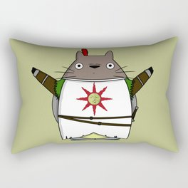 Totoros - Praise the sun Rectangular Pillow