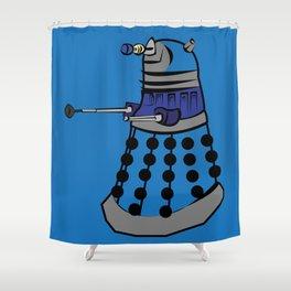 Pop Dalek Shower Curtain