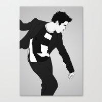 darren criss Canvas Prints featuring Darren Criss Dancing! by byebyesally
