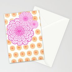 supes girly Stationery Cards