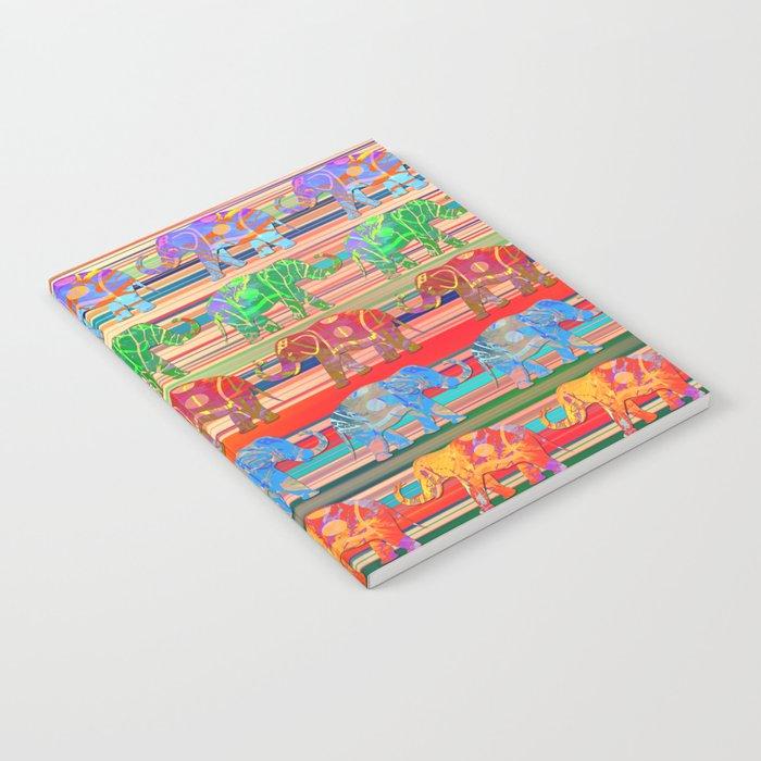 Elephant pattern Notebook