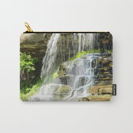 Misty Fountain Waterfall Carry-All Pouch