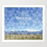 Summer Tapestry Art Print
