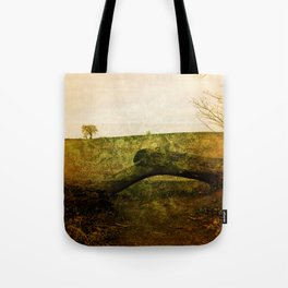 Textured Field Tote Bag