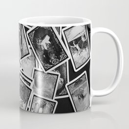 New tarot | Black and white | New age | Gypsy | Fortune telling | Tarot cards Coffee Mug