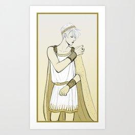 King Consort Art Print