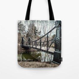 Victorian Bridge in Winter Tote Bag
