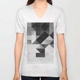 Triangle Pattern Unisex V-Neck