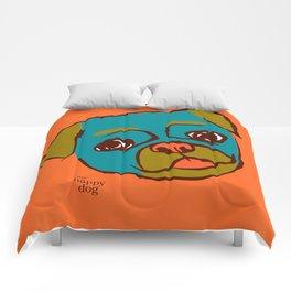 Pickle- turquise/orange Comforters