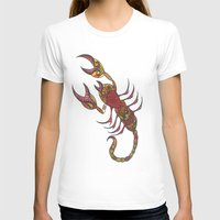 tatoo T-shirts featuring Tatoo Scorpion by PepperDsArt