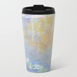 Monet water lilies 1908 Travel Mug