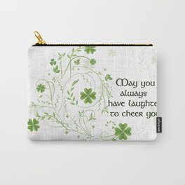 St. Patrick's Day Irish Blessing Carry-All Pouch