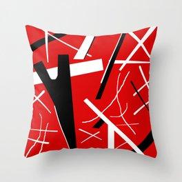 Monster Stripes Throw Pillow