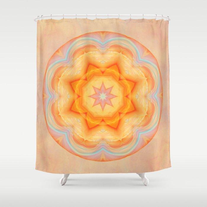Mandala energy boost Shower Curtain