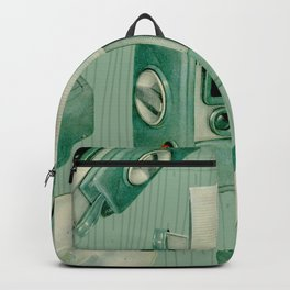 Teal Cameras Backpack