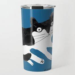 wilbur the cat Travel Mug