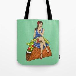 Pinup Taco Tote Bag