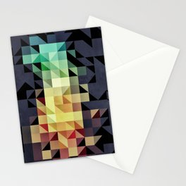 :: geometric maze IV :: Stationery Cards