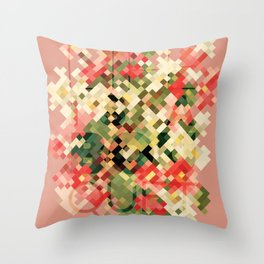 Life is a Bouquet Throw Pillow