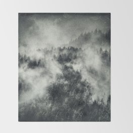 Recently // Dark Boogie Edit Throw Blanket