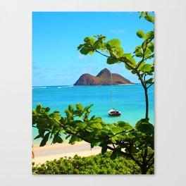 Moka Lua Canvas Print