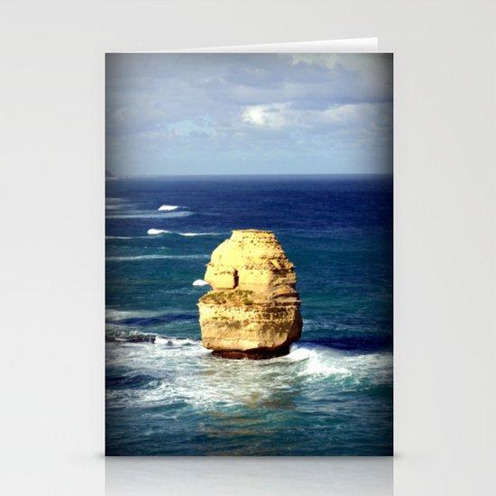 Limestone Rock Stationery Cards