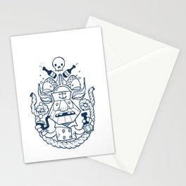 Captain Badass Stationery Cards