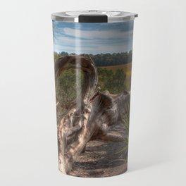 Driftwood twisted and bent Travel Mug