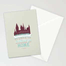 jk rowling quote Stationery Cards