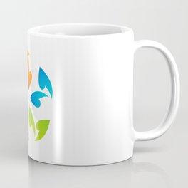 Abstract flora- colorful flower Coffee Mug
