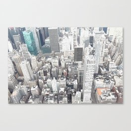 During the day in new york Canvas Print