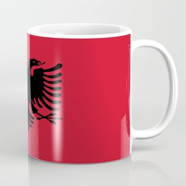 flag of Albania Coffee Mug