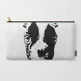 Curious French Bulldog Carry-All Pouch