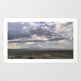 View Out From Meteor Crater  Art Print