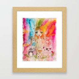 Love for all Framed Art Print
