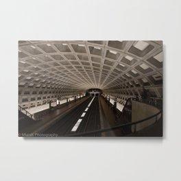 Washington DC Metro Metal Print