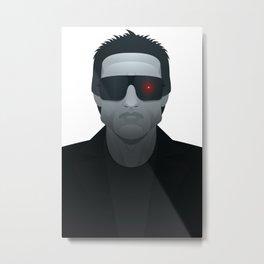 T800 - Terminator Metal Print