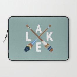 LAKE LIFE Painted Paddle Oars Laptop Sleeve